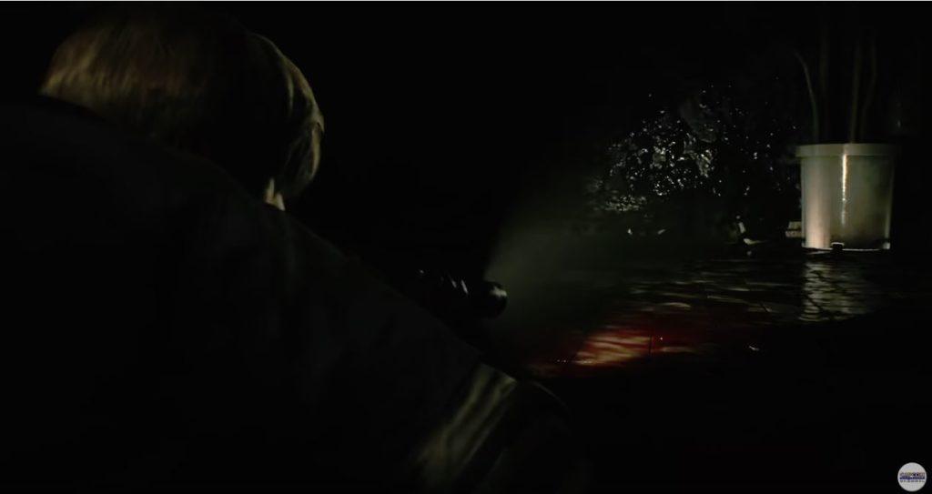 バイオハザードRE2ゲーム画面