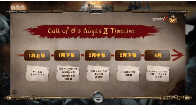 『Identity V 第五人格』CALL OF THE ABYSSⅡグローバルフェスティバル日程