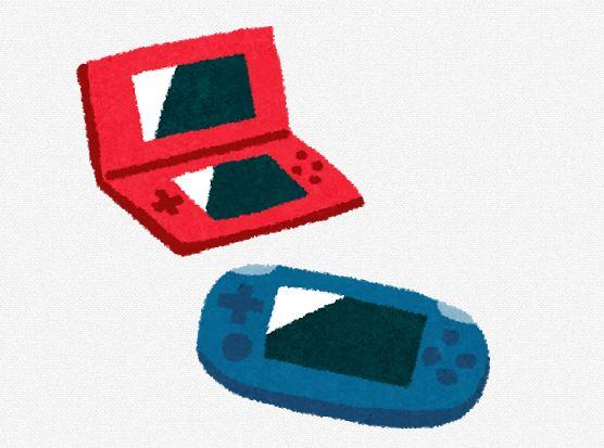ゲーム機のイラスト