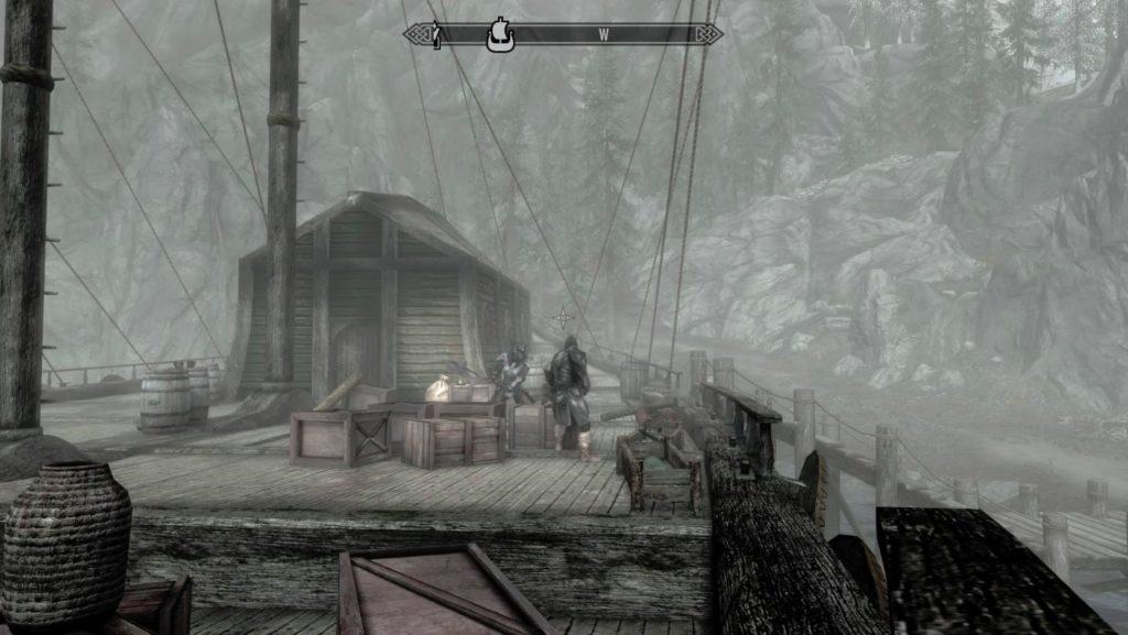 PS4版 スカイリム 1人称視点