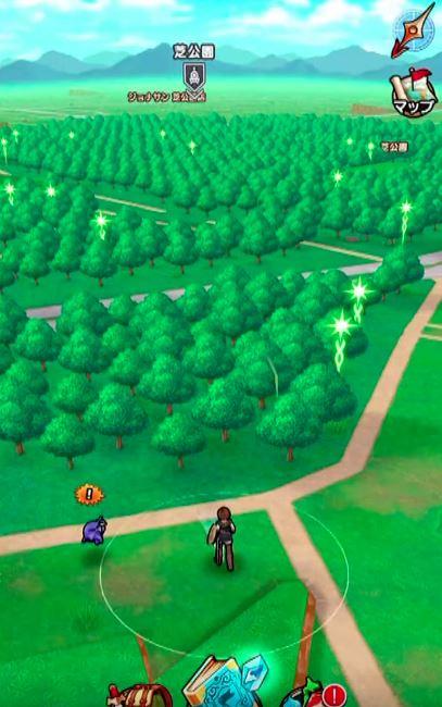 ドラゴンクエストウォークゲーム画像