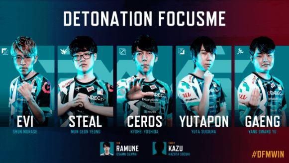 DetonatioN FocusMe (デトネーション フォーカスミー / DFM)2017年後半開幕メンバー