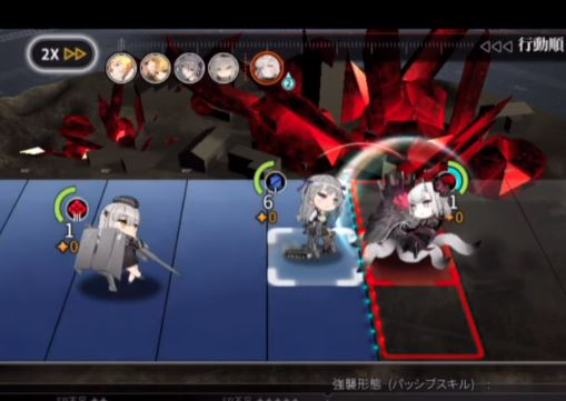 アッシュアームズ‐灰燼戦線‐ゲーム画面