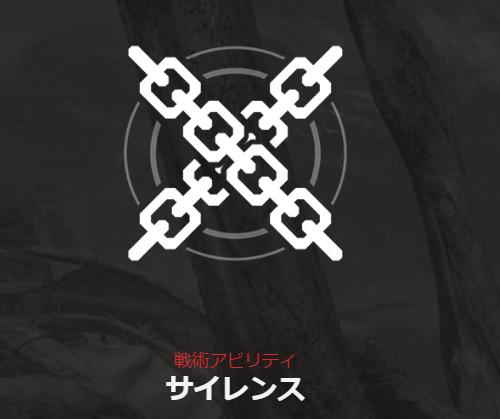 戦術アビリティ/サイレンス