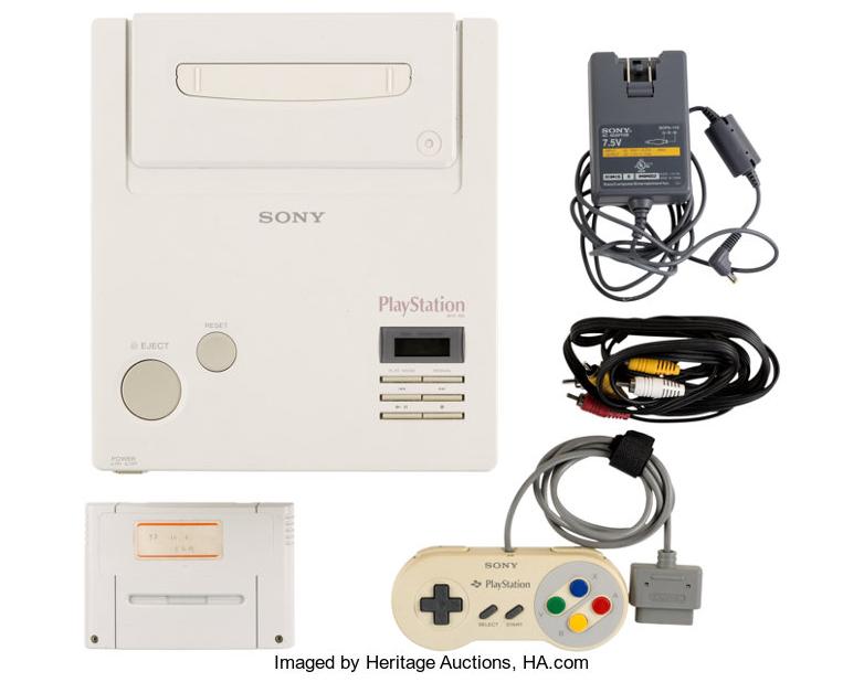 ニンテンドープレイステーションスーパーNES CD-ROMプロトタイプ