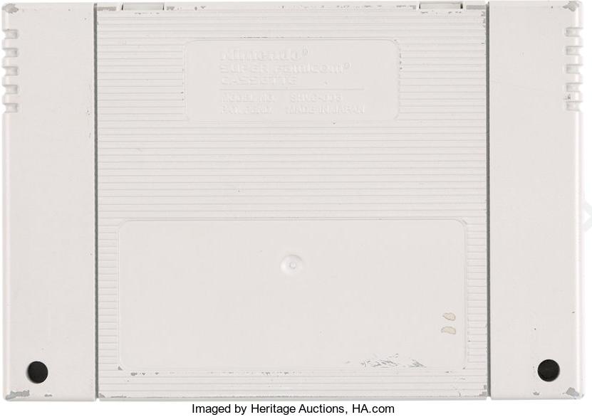 ニンテンドープレイステーションスーパーNES CD-ROMプロトタイプ カセット