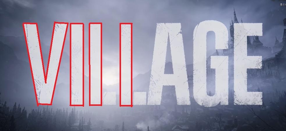 「VILLAGE(ビレッジ)」に「Ⅷ(8)」という数字が隠れています
